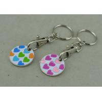 Wholesale Plastic Soft Enamel Supper Market Token Iron Stamped Personalized from china suppliers