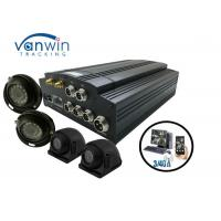 Wholesale 4 / 8CH HDD AHD 720P GPS 3G 4G and WiFi MDVR with 4 HD Cameras for Truck from china suppliers