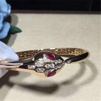 Wholesale Bvlgari diamond snake Bracelet 18k gold white gold yellow gold rose gold diamond Bracelet from china suppliers
