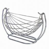 Wholesale Stainless Steel Fruit Basket, Can be Used to Hold Vegetables of Fruits, Available in Various Designs from china suppliers