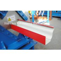 Wholesale Most Popular color sheet steel metal Rain Gutter roof roll forming machine from china suppliers