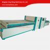 Buy cheap Full automatic PVC film vacuum membrane press machine laminating woodworking machine from wholesalers
