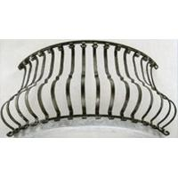 Wholesale Stair spindle Aluminum bending baluster railing from china suppliers