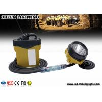 Buy cheap 10.4Ah 3.7V Cree Mining Cap Lights , 348lum 25000lux light brightness from wholesalers