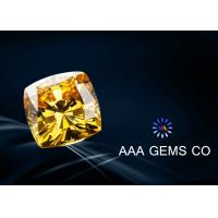 Wholesale Fashionable Gemstone Cushion Cut Moissanite Yellow 1.0mm -16mm from china suppliers