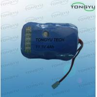 Wholesale 11.1V 4000mAh Rechargeable Lithium Batteries With Fuel Gauge For LED Lighting / Diving Lights from china suppliers