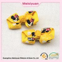 Wholesale Personalized Cartoon Bow tie Baby Hair Accessories Pink / Yellow / Blue color from china suppliers