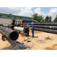 Quality Professional Pneumatic Pipe Cutting Beveling Machine For Process Plant / Fabrication for sale