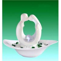 """Wholesale 14"""" White Sweetheart Contemporary Table top Water Fountains OEM Available from china suppliers"""