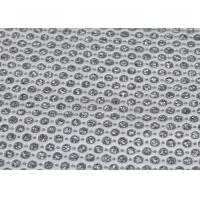 Wholesale Shoes Bags Clothing Micro Perforated Fabric , White Perforated Leatherette Fabric from china suppliers