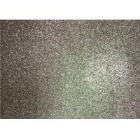 Wholesale Bedroom Wallpaper PU Material Silver Glitter Fabric For Living Room Home Decor from china suppliers