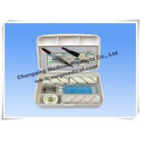 Wholesale Small Plastic Surgical First Aid Kits For Car / Travelling Emergency from china suppliers