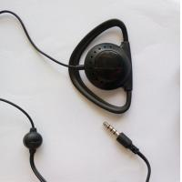 Wholesale Single-side earphone with Mic and 4-pole plug ear hook headphone for tour guide system from china suppliers
