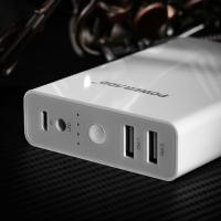 Quality Compact External USB Power Bank 10400MAH , Li - ion Power Bank For Smartphone for sale