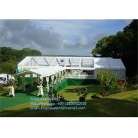 Wholesale High Class Outdoor Exhibition Tents , Aluminum Frame Marquee Tent With Decoration from china suppliers