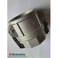 Wholesale Aluminum Hose Fitting Camlock Coupling type D from china suppliers