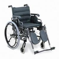 Wholesale Wheelchair with Aluminum Frame and Flip-up Desk Armrest from china suppliers