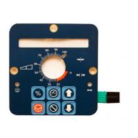 Wholesale Embossed PET Waterproof Membrane Switch with Silver Printing from china suppliers