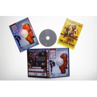 Quality Big Hero 6  1DVD carton dvd Movie disney movie for children uk region 2 DHL free shipp for sale