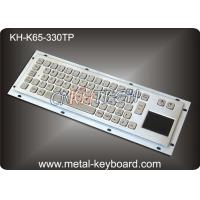 Wholesale 65 Keys Industrial Keyboard with Touchpad , Water - proof Stainless Steel from china suppliers