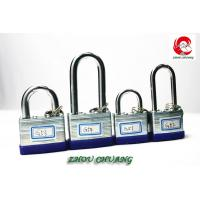 Quality ZC-G52 40mm Safety Uncuttable Padlocks Heavy Duty Padlocks, Laminated padlock for sale