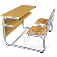 Double Student Desk and Chair, Popular Double Desk and Chair (GT-51)