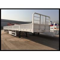 Wholesale 50 Ton Side Lift  Flatbed Trailer Equipment , Side Loader Transport Side Lifter Trailer from china suppliers