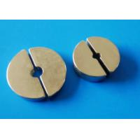 Wholesale Segment Sintered Ndfeb Magnet For MRI / NMR , Prone To Oxidation from china suppliers