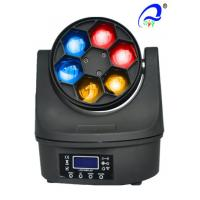 Wholesale 6pcs 15W RGBW 4 in1 Bee Eye Led Moving Head Beam Light Stage LED Lighting from china suppliers