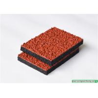 Wholesale Outdoor UV-Resistant Breathable Sports Running Track / Rubber Safety Surfacing from china suppliers