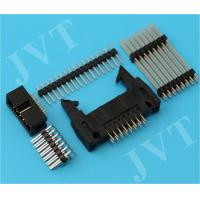 Wholesale Dual Row 2.54mm Pitch Pin Header Connector with SMT 2 - 50 Poles PA6T Housing 22 - 28 AWG from china suppliers