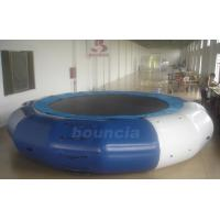 Wholesale 5m Diameter Inflatable Aqua Jumping Trampoline With Solid Net from china suppliers