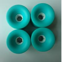 Wholesale Penny Long Board Wheels ,  Color Roller Skate Wheels Red / Yellow / Black / Customized from china suppliers