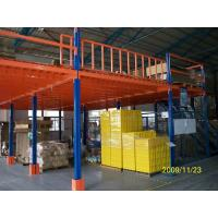 Wholesale Steel Structure Industrial Mezzanine Floors With Plate For Storage Or Office Cold Rolling from china suppliers