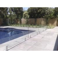 Wholesale 316 Anti-Rust Stainless Steel Spigots Frameless Swimming Pool Glass Railing from china suppliers