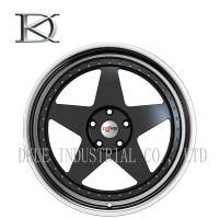 """Wholesale Deep Dish 5 Spoke Concave Wheels With Lip , Black Concave Wheels 18"""" from china suppliers"""