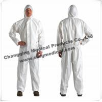 Wholesale Surgical Resistant Disposable Hooded Coveralls Different Collar Waist Design from china suppliers