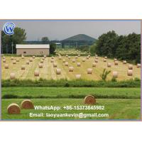 Buy cheap Hot Selling 100% HDPE 8.33gsm 1.62 x 2348m Straw hay bale net wrap from wholesalers