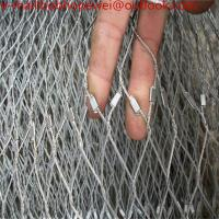 Wholesale ss 316 aviary bird zoo mesh/stainless steel wire rope mesh /stainless steel wire rope fence mesh from china suppliers