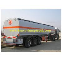 Wholesale Chemical flammable Fuel Delivery Trucks 33cbm 8x4 with carbon steel from china suppliers