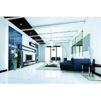 Clear / White Decorative Glass Panels For Interior Glass Screens , Partitions , 1100x1954mm