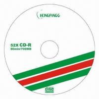 Wholesale Blank CDR Discs with Virgin Material and Good Quality from china suppliers