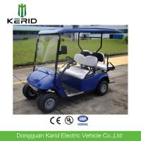 4 Seater Electric Golf Carts Battery Operated Overload