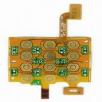 Buy cheap Rigid-flex PCB with 1.6mm Board Thickness, 0.25mm Hole Diameter and 0.10mm Line Width from wholesalers