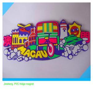 Wholesale souvenir promotional  soft PVC fridge magnet sticker from china suppliers