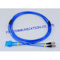 Wholesale Rugged Fiber Optic Patch Cable SC - FC G.657A Bending Insensitive Duplex from china suppliers