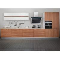 Wholesale 304 Stainless Sink Melamine Kitchen Units , Laminate Finish Kitchen Cabinets from china suppliers
