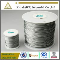 Wholesale 7x7,7x19,6x19+FC/IWS rope Galvanized Aircraft Cable/Stainless Steel Wire Suppliers/Steel Cable Accessories from china suppliers