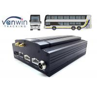 Wholesale Vehicle MDVR D1 H.264 HDD 8 Channel Mobile DVR 3G WIFI Car DVR Recorder 4G GPS from china suppliers