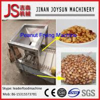 Quality Industrial Stainless Steel Automatic Peanut Frying Machine Continuous for sale